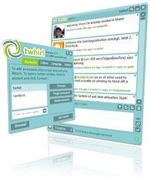 Twitter клиент - twhirl