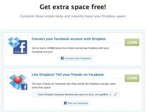 Dropbox бесплатные 500Мб места для копий WordPress